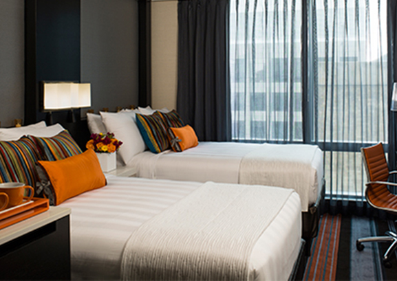 Courtyard by Marriott Renovation, Central Park, NY
